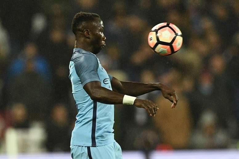 Sagna has been fined £40,000 for an Instagram post he made after the Burnley match. AFP