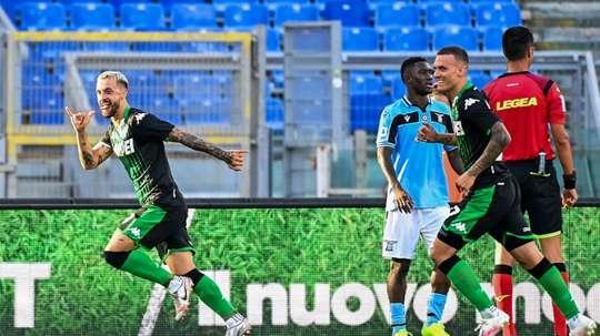 Lazio perde em casa e deixa o caminho livre para a Juve. AFP