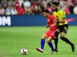 Nicholson strikes as Jamaica sink USA