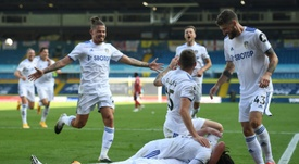 Leeds won 4-3. AFP