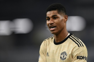 Man Utd's Rashford fears 'society more divided than ever'. AFP