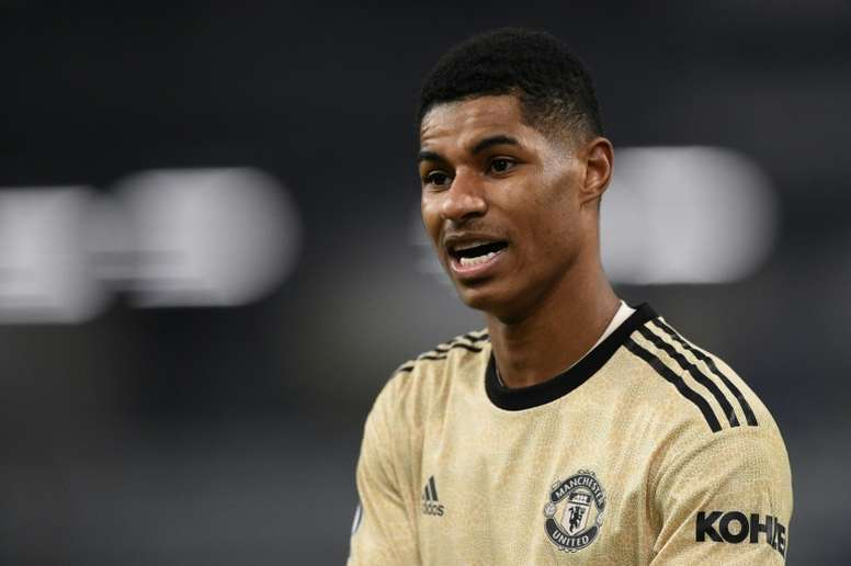 A former Ghana player claims to be Rashford's father. AFP
