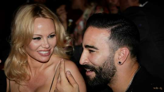 Pamela Anderson had a strong message for Adil Rami on Instagram. AFP