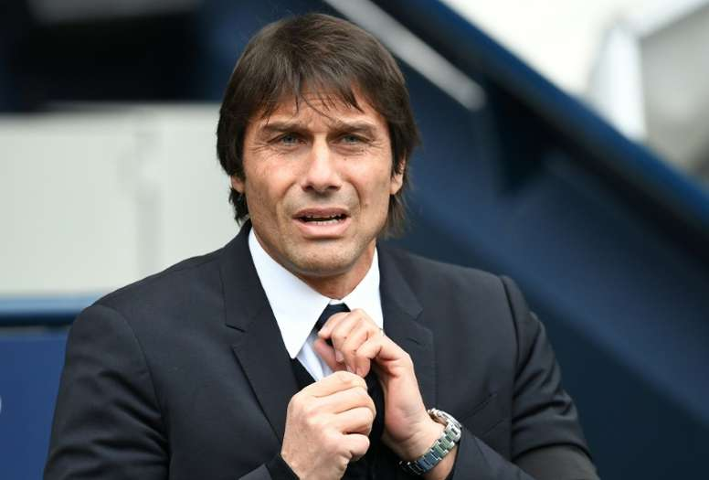 Conte is afraid of the Chinese competitors. AFP