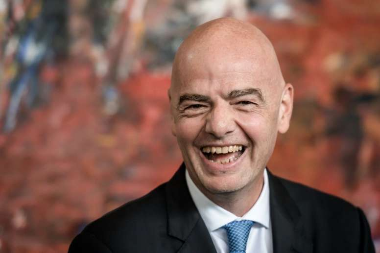 Gianni Infantino has now been elected to the IOC. AFP