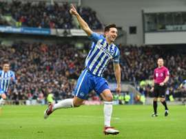 Lewis Dunk could make his England debut. AFP