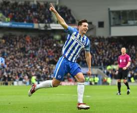 Lewis Dunk could be Maguire's replacement at Leicester. AFP