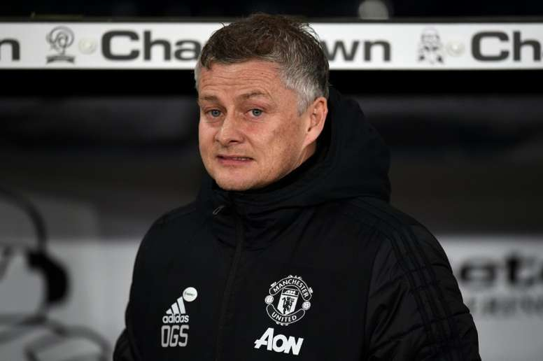 United boss Solskjaer says players are 'easy target' in pay row. AFP