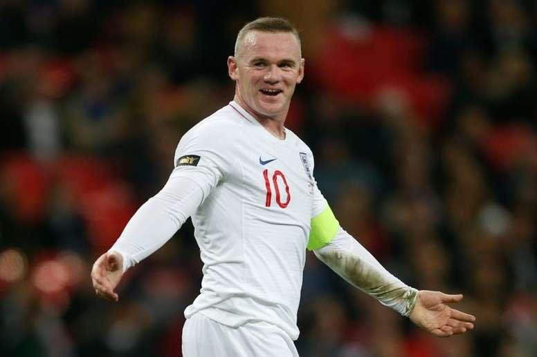 Rooney verá a partida contra o QPR. AFP