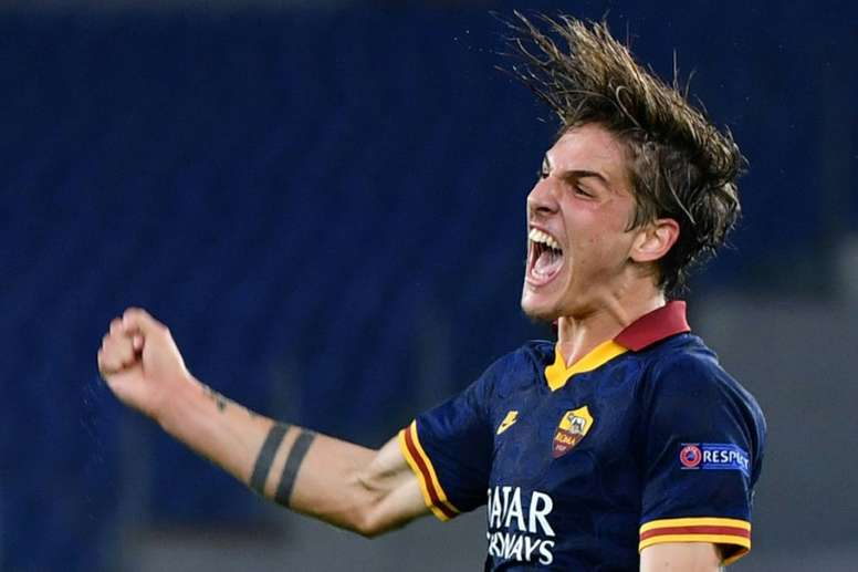Nicolo Zaniolo (pictured September 2019), a highly rated young talent, has been brought back for the Euro 2020 qualifiers