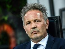 Mihajlovic helped Bologna fight back from hospital. AFP