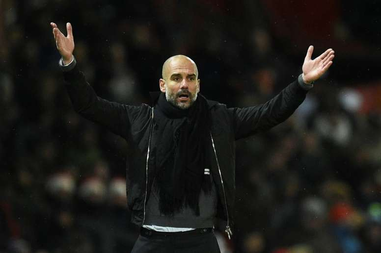 Pep Guardiola's men could create more Premier League history on Wednesday. AFP