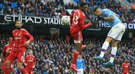 Man City cruise past 10-man Fulham in FA Cup. AFP