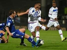 Lyon jouera contre Bastia ce soir à 20h. AFP