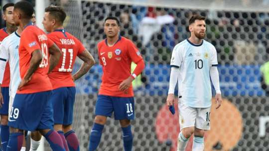 Les supposées paroles de Messi après Brésil-Argentine. AFP