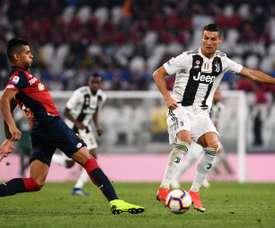 La Juventus pensa in Cristian Romero. AFP