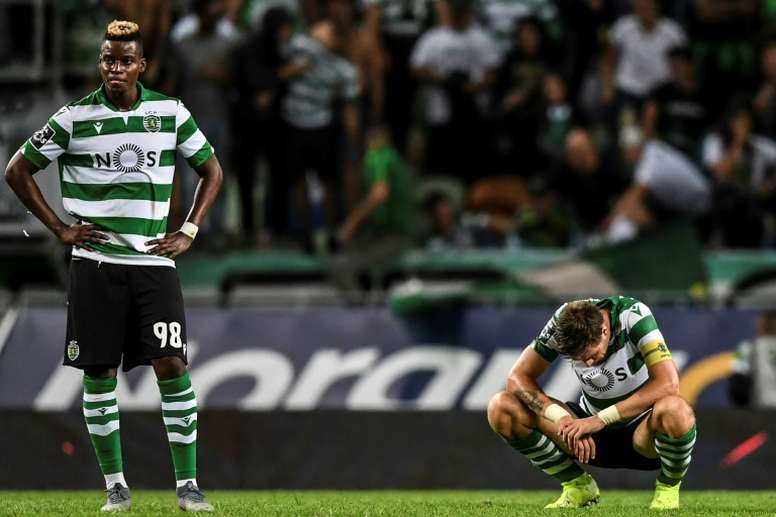 Sporting have appointed a new coach after Pontes' winless four games as caretaker. AFP