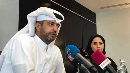 Qatar have denied claims that there have been discussions about sharing World Cup host duties. AFP