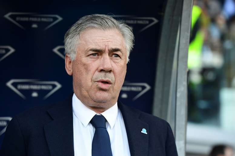 More trouble for Napoli: Ancelotti could leave in January. AFP