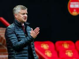 Solskjaer says United's plans are up in the air. AFP