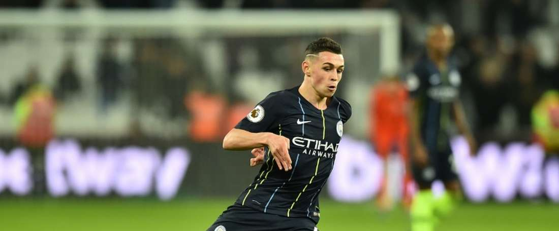 18-year-old Foden bagged two for his side. AFP