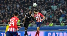 El Atlético pediría 30 'kilos' por Vrsaljko. AFP