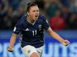 Scotland threw away a three-goal lead against Argentina. AFP