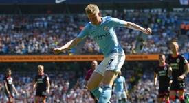 Manchester City Kevin De Bruyne. AFP
