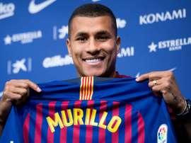 Jeison Murillo, vainqueur de la Coupe du Roi. AFP