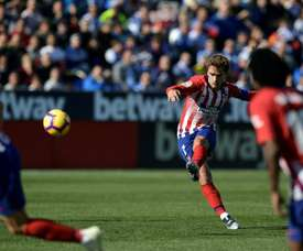 Griezmann opened the scoring with a fine goal. AFP