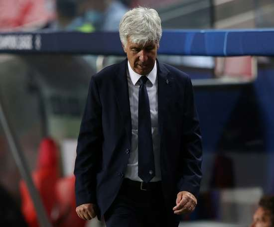 Gasperini feels 'great regret' after Champions League dream crashes down. AFP