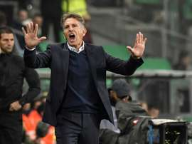 Puel enters Lyon's den for derby under serious pressure