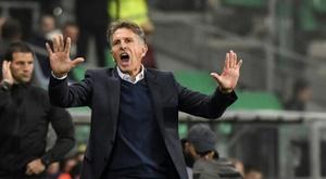 Puel enters Lyon's den for derby under serious pressure
