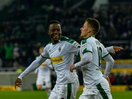 Thorgan Hazard netted his ninth goal of the season. AFP