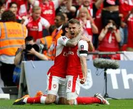 El Everton también quiere a Ramsey. EFE