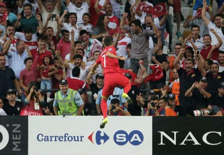 Ozyakup ha alcanzado el mejor nivel en Turquía. AFP