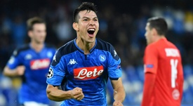 Napoli won 2-1. AFP