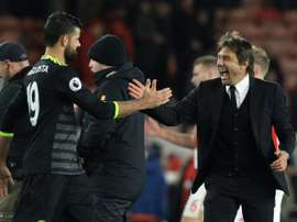 Diego Costa spoke out on his relationship with Conte. AFP