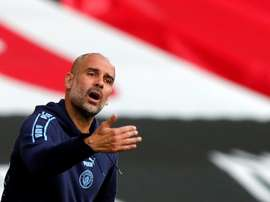 City preparing a salary increase for Guardiola. AFP