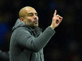 Manchester City Pep Guardiola. AFP