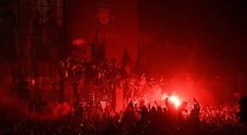 Il Liverpool sgrida i tifosi. AFP