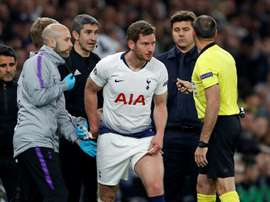 Spurs say all concussion procedures were followed. AFP