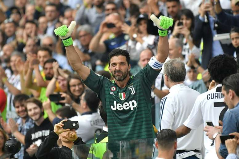 Fired-up Buffon set to overtake Maldini as Juve eye nine in a row. AFP