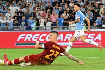 La Lazio vince il Derby. AFP