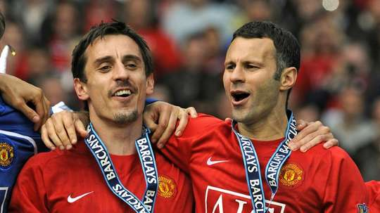 Neville and Giggs both own National League side Salford City. AFP