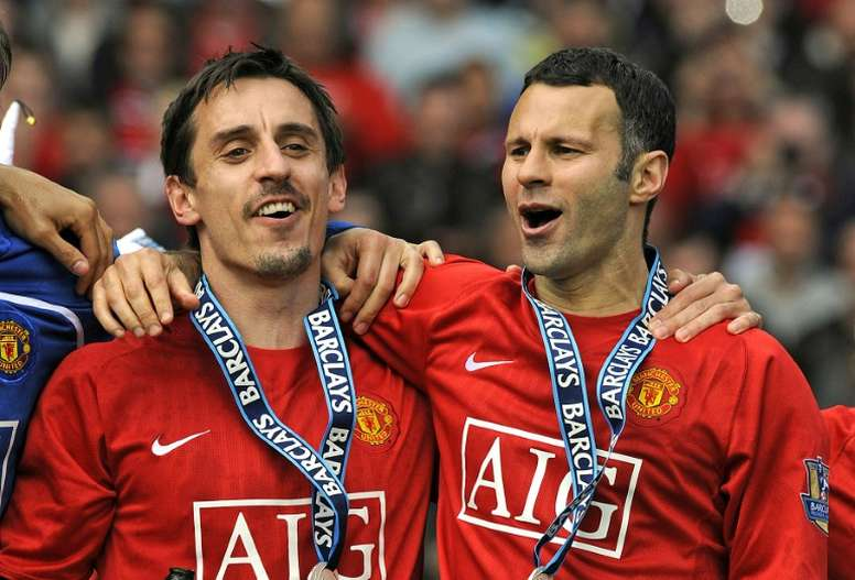 Ryan Giggs never captained United on a regular basis. AFP