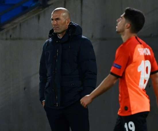 Madrid lost 3-2. AFP