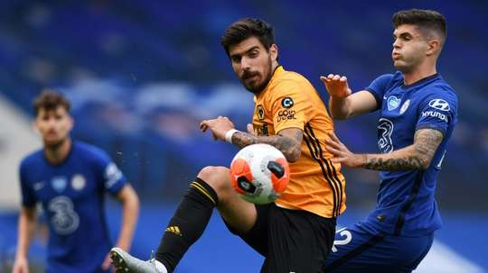 Wolves are keen to win the Europa League for injured player Jonny. AFP