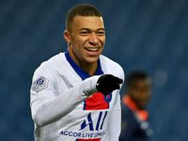 Mbappe brings up century as PSG win at Montpellier