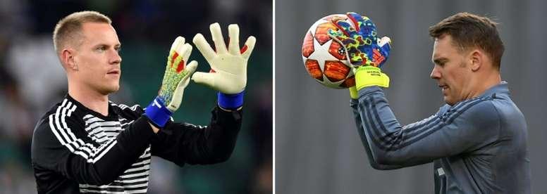 Loew backs Neuer in Germany goalkeeper debate. AFP